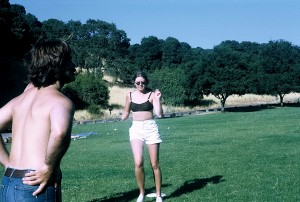 Scott Turow and me at Stanford, circa 1973