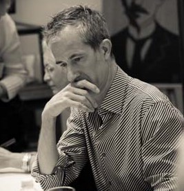 Geoff Dyer at the KWLS photo permission Nick Doll