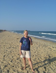 Outer Banks: I could walk for miles and miles