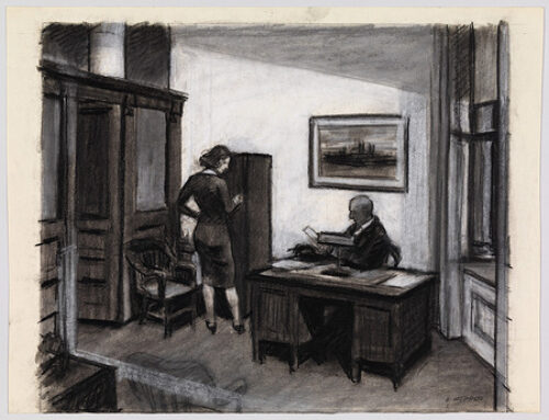 A Writer Learns about Creative Process from Two Artists: Hopper and O'Keeffe